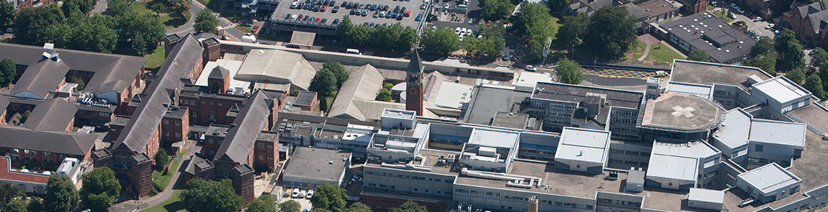 medway meritime hospital from the air