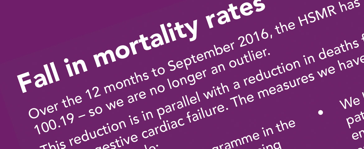 reduction patient mortality