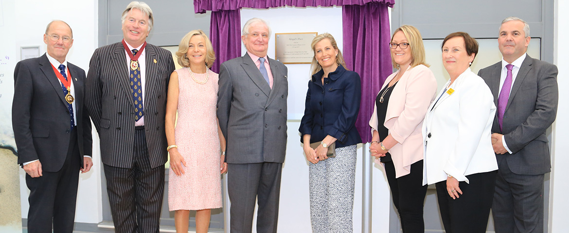 Her Royal Highness the Countess of Wessex visited the maternity bereavement suite