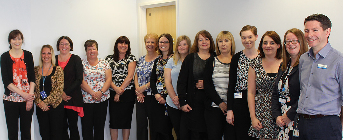 Cancer services team
